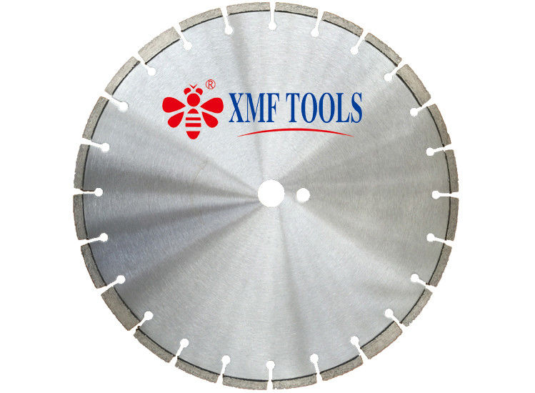 28 Inch Laser Welded Diamond Saw Blade For Old Reinforced Concrete  Fast Speed
