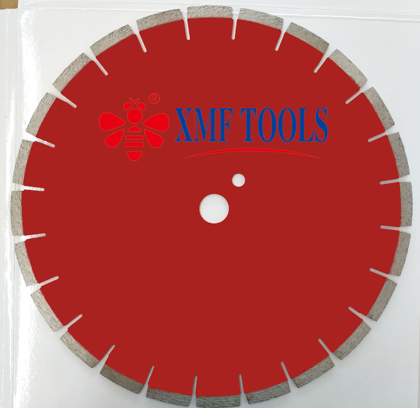 36 Inch 40 Inch Laser Welded Saw Blade For High Speed Saw With Small U Slot  Red