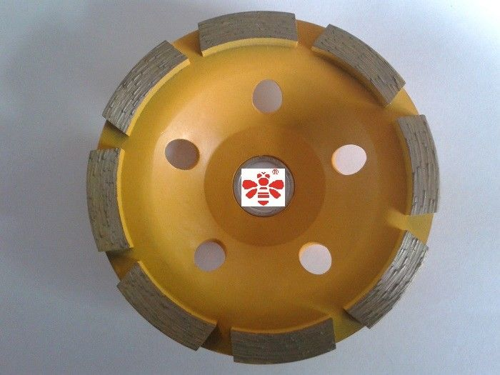 "5 "" / 6 "" Diamond Cutting Blade   ,  Double Row 4.5 diamond cutting discs  Economical"