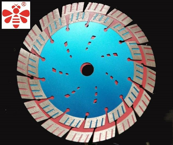 "5 "" 7 ""  Diamond Cutting Blade 1 Inch Arbor Apply  To Cut Brick Turbo Angle Grinder"