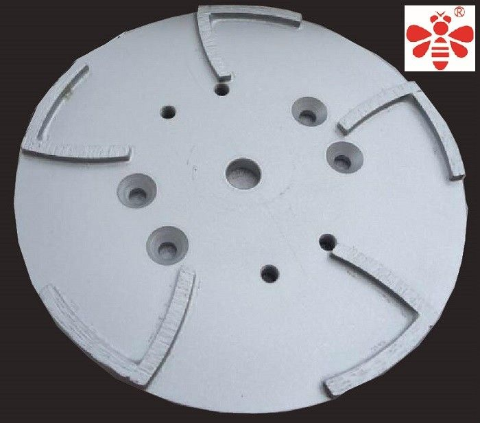 White Diamond Cutting Blade , 10 Inch Grinding Head  Diamond Cup Wheel  Floor Grinding Plate
