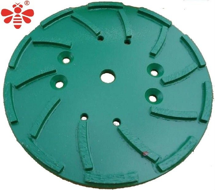 "Green Diamond Cutting Blade Grinding Head   Floor Grinding Plate 10"" / 250mm"