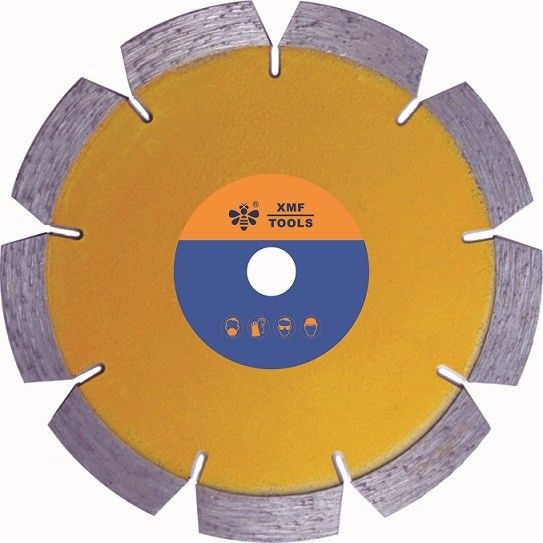 Sintered Tuck Point Segmented Diamond Saw Blade , 4 Inch Concrete Cutting Disc