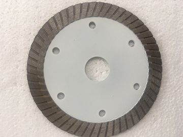 Putih Panas Ditekan Mid Turbo Diamond Saw Blade Granit Cutting Marble 4 Ukuran 5 Inches