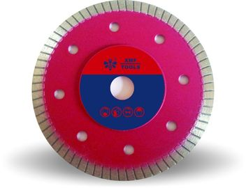 Hot Ditekan Turbo Diamond Cutting Blade, 4 Inch Tipis Berlian Cutting Disc
