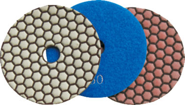 150mm Dry Diamond Polishing Pads Untuk Granit, Beton, Batu Kuarsa